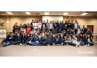 Group picture of the Lock-In participants and staff