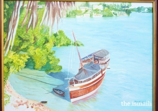 Tamarind dhow, by Rashida Alibhai