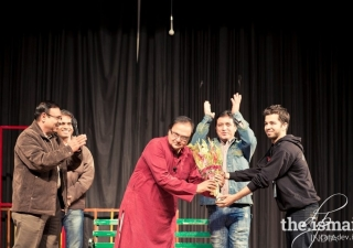 A throwback to Sahil's days at IIT. Sahil Sorathiya (extreme right) won the TSP to pursue his undergrad at IIT Kharagpur