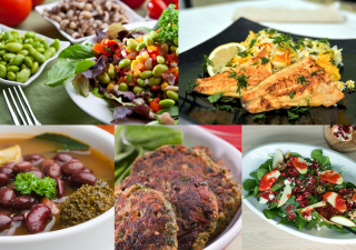 From Spinach and Potato Kebabs, to Persian Herbed Rice with Fish, The Ismaili Nutrition Centre features an enticing collection of heart healthy meals.