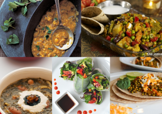 From Spicy Summer Rolls to South Asian Pav Bhaji, The Ismaili Nutrition Centre features an array of plant-based recipes.