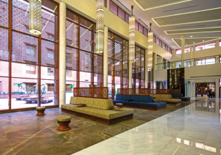 AKUH's Private Wing complex has been designed to provide peace and tranquility to patients and their families.