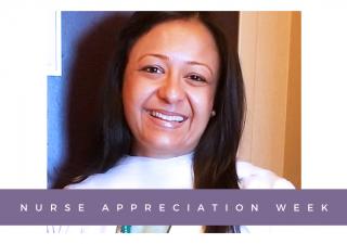 Khairunissa Meghani, a Dallas nurse, proudly serving COVID-19 patients.
