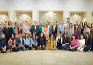 Members of the Jewish and Ismaili communities of Atlanta came together for a series of interfaith events. The program gave way to a greater dialogue about their respective faiths and cultural heritage.