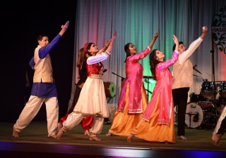 Young performers recreate the magic of the July 11th stage performances during the Salgirah 81 celebrations at the Headquarters Jamatkhana in Atlanta
