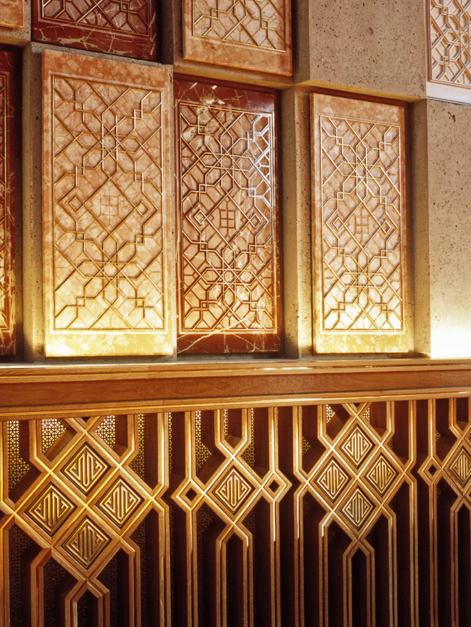 Gallery architecture of the ismaili centre burnaby the Pattern in interior design definition