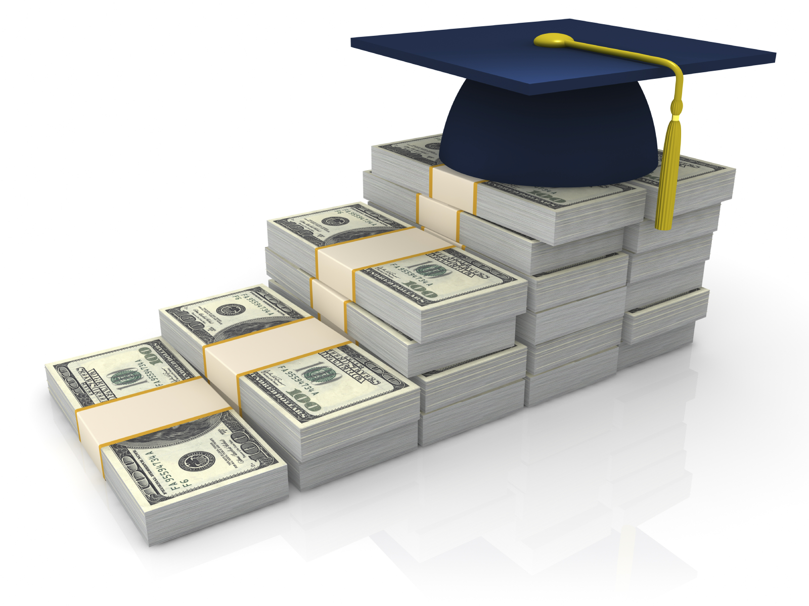 Unlike loans, scholarships do not have to be repaid, so they offer an attractive form of education financing. In addition, the awarding of a scholarship is in itself a prestigious form of recognition. Copyright: iStockPhoto/cogal