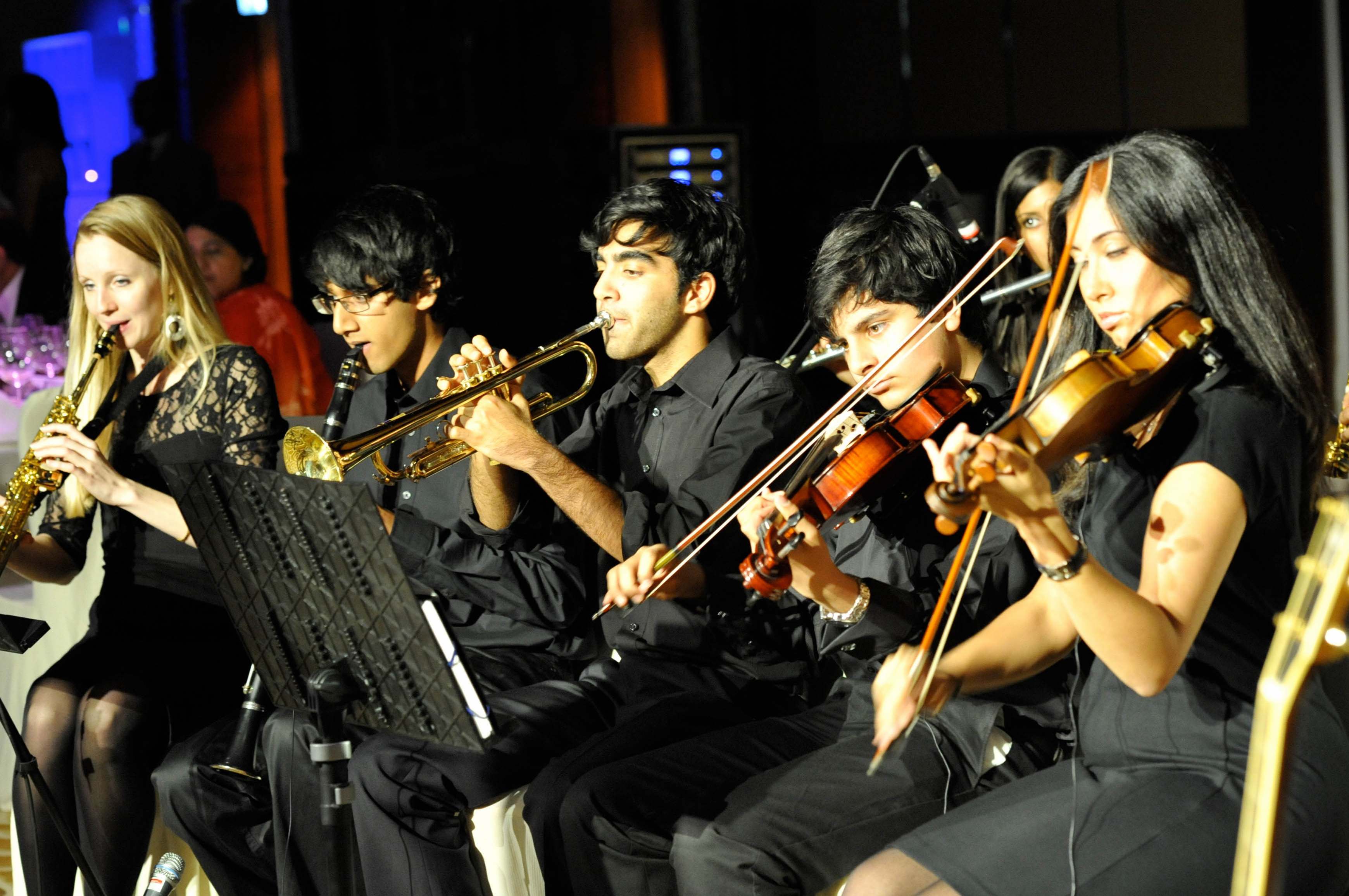 ICE at the Dubai FOCUS gala dinner performance on Sunday, 26 September 2010. Photo: Naveed Osman