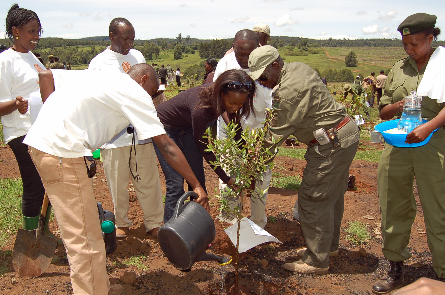 The Serena Hotels Group has planted over one million trees in the National Parks of Kenya. Photo: Courtesy of AKDN