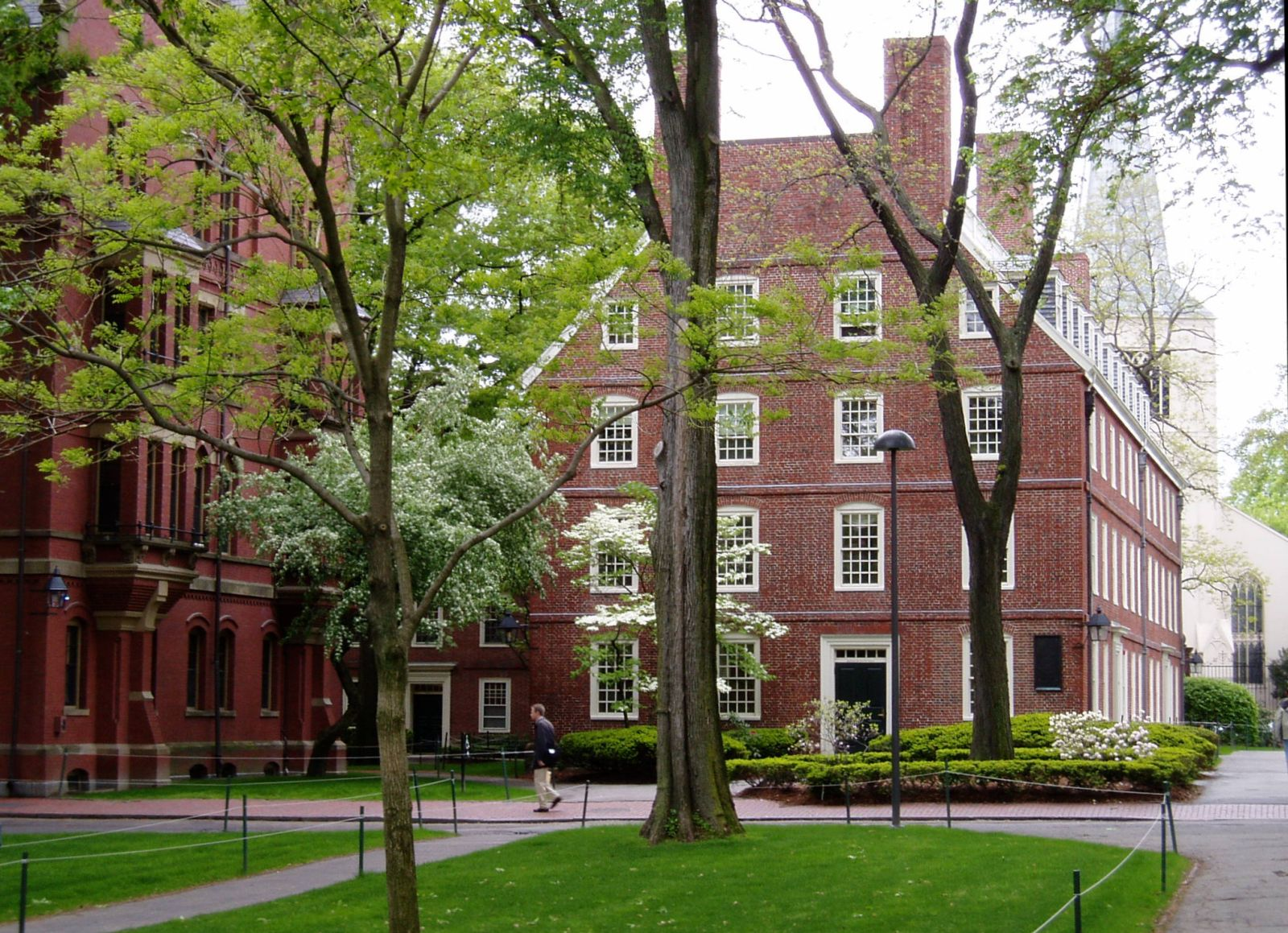 The NCE programme encourages eligible students to apply to the very best schools in the world, including Princeton, Harvard (pictured above), Yale, Brown, MIT, Stanford, and Caltech. Photo: Courtesy of Wikimedia Commons