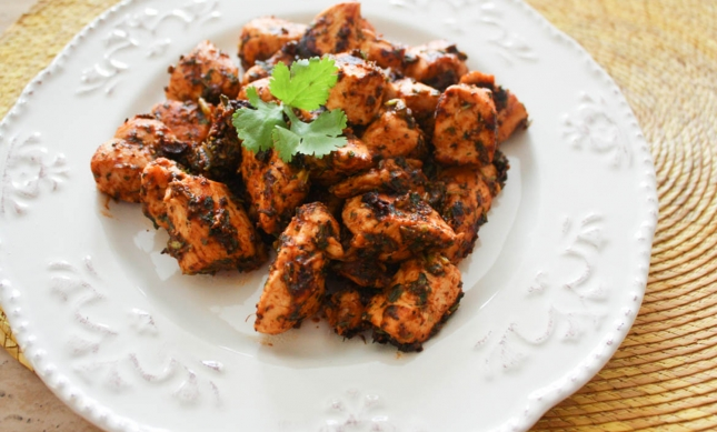 Coriander and Pepper Chicken