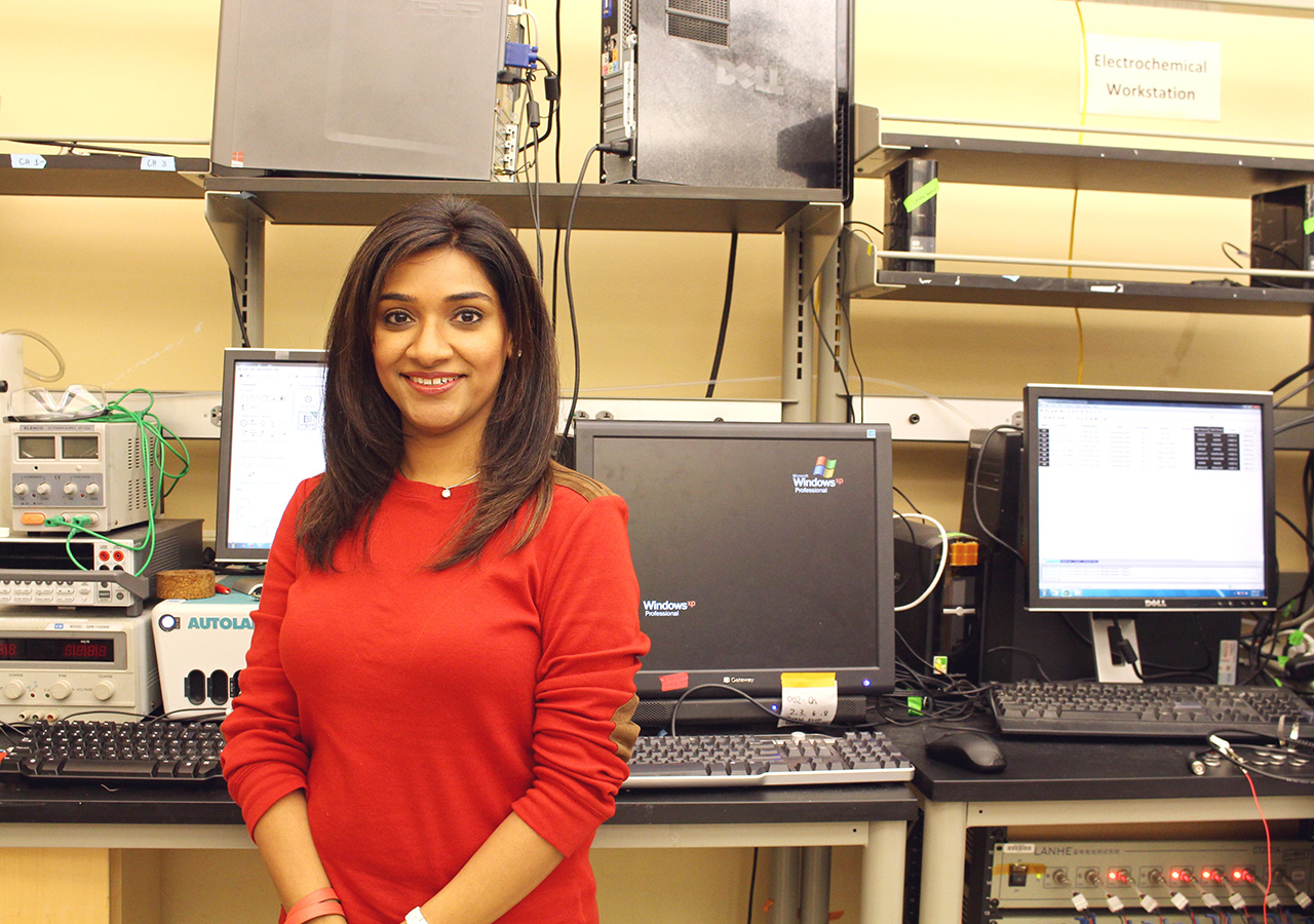 Dr. Huma Jafry-Lalani, CEO of NanoInnovations, Sugar Land, Texas