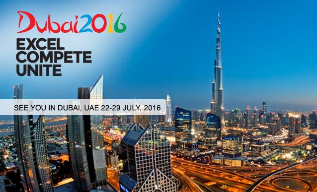 Dubai 2016. Excel - Compete - Unite.