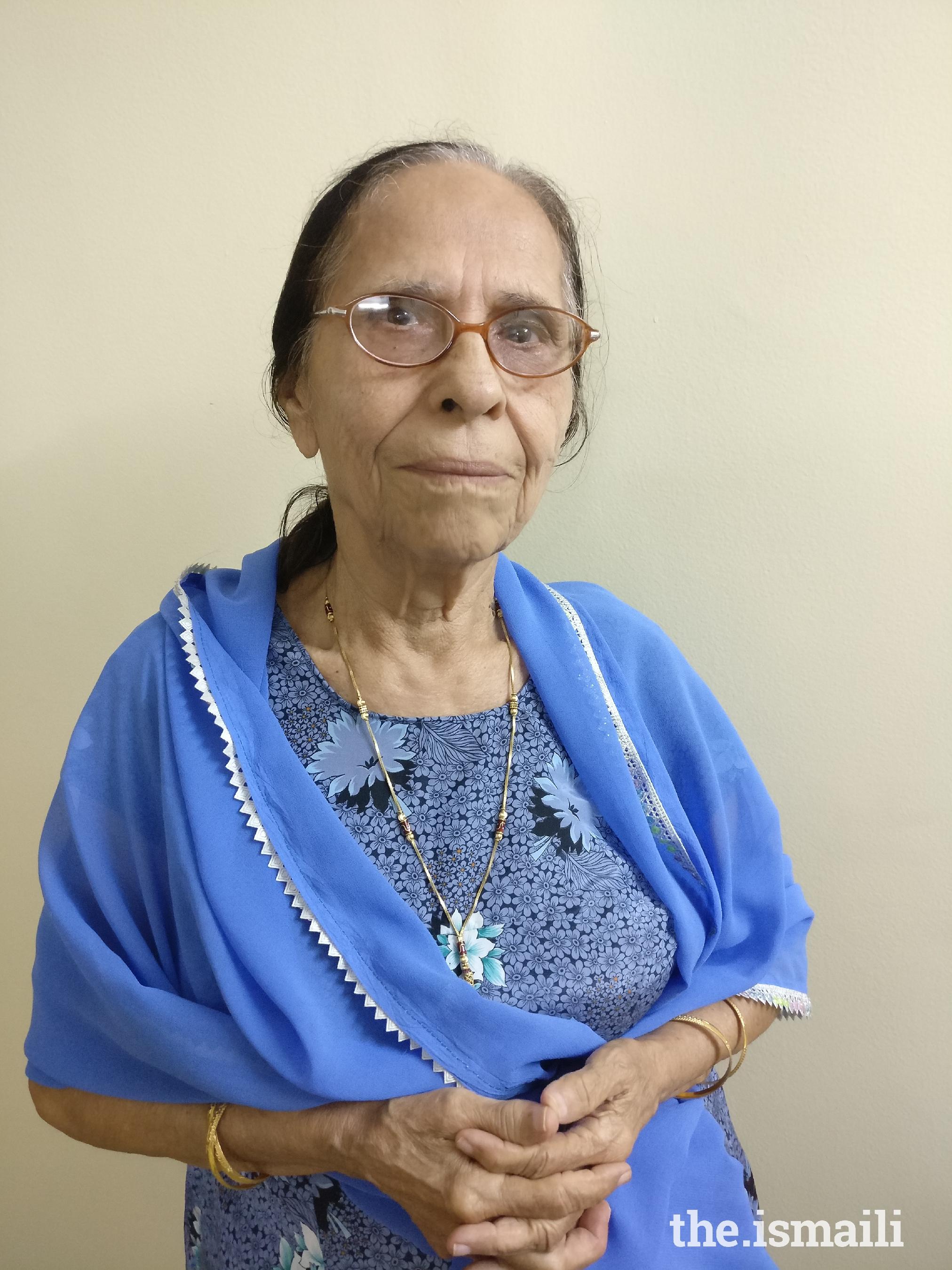 Alijah Gulbanu Jassani, 88 years, Nanded/Pune