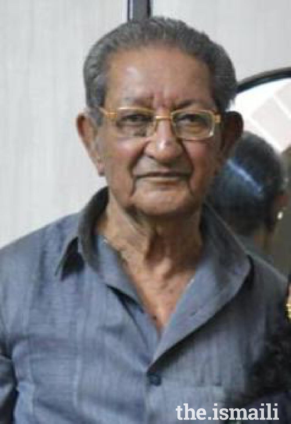 Itmadi Hasanali  Nathani, 83 years, Rajkot