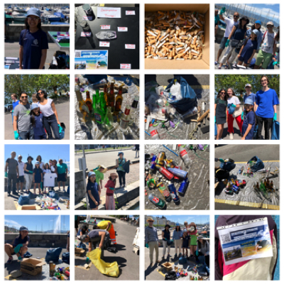 Anaya, aged 11, mobilised family and friends to undertake a beach cleanup to mark World Ocean Day.