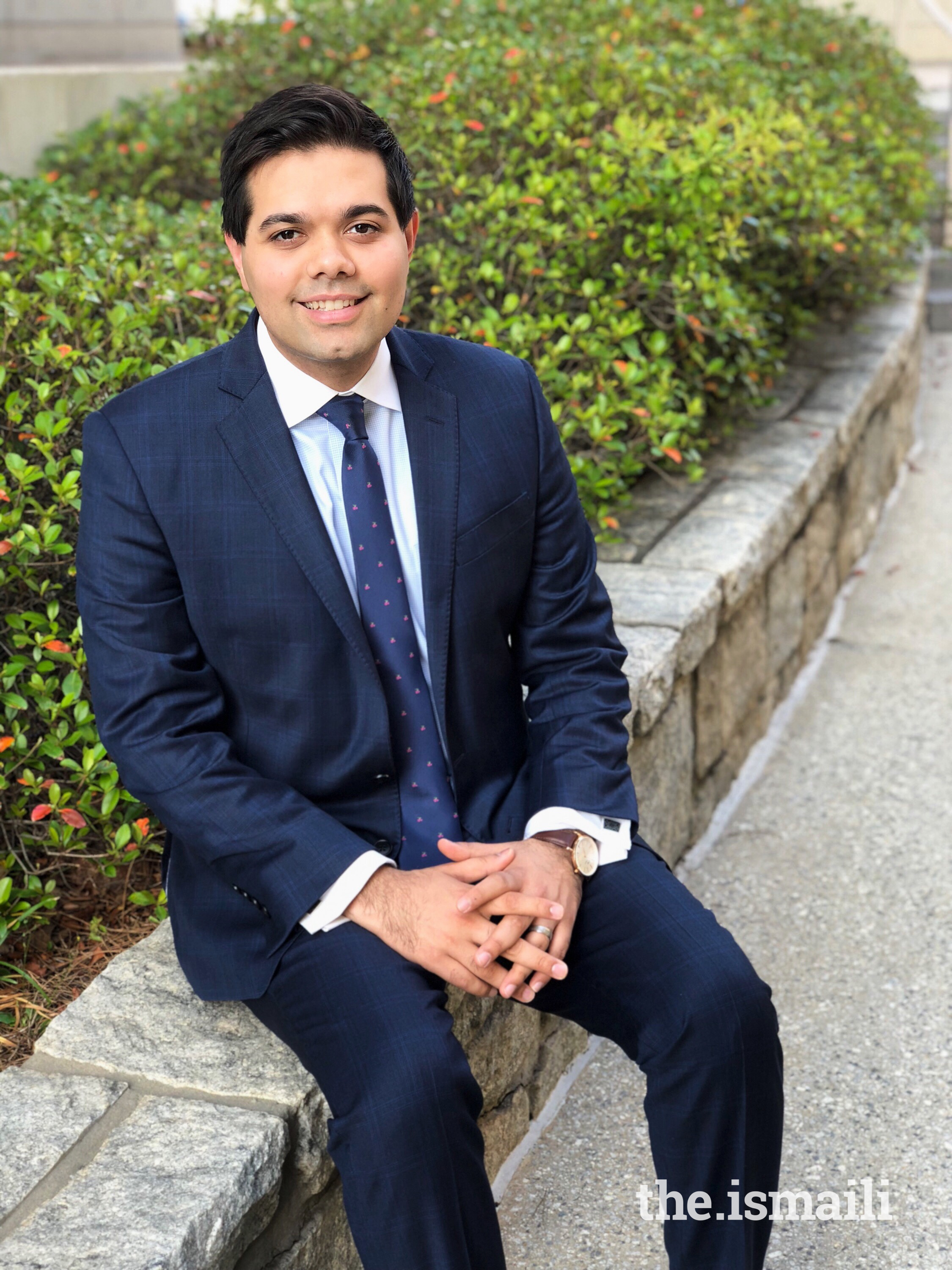 Asad Abdulla, an honoree of the 2018 Emory University Alumni Association 40 Under 40 Award was recognized his community service and leadership.
