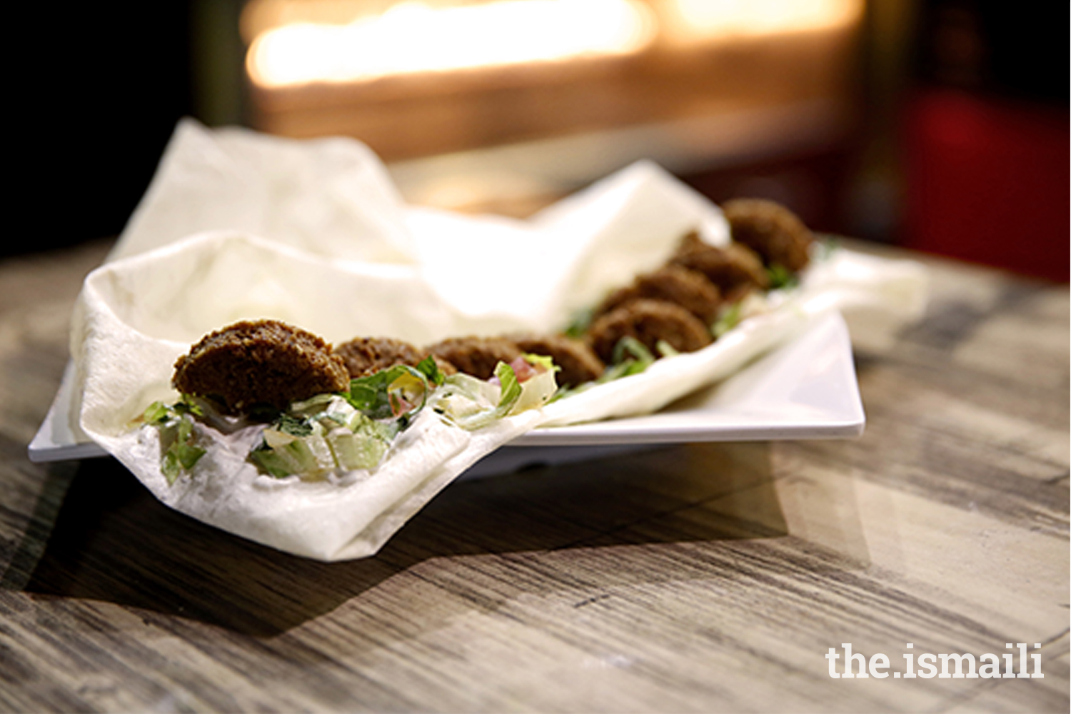Fried to perfection, falafel are crispy on the outside but soft and tender on the inside.