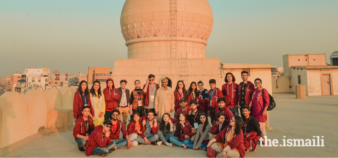 On the Heritage Discovery Tour, participants visited a number of shrines and historic sites in Pakistan.
