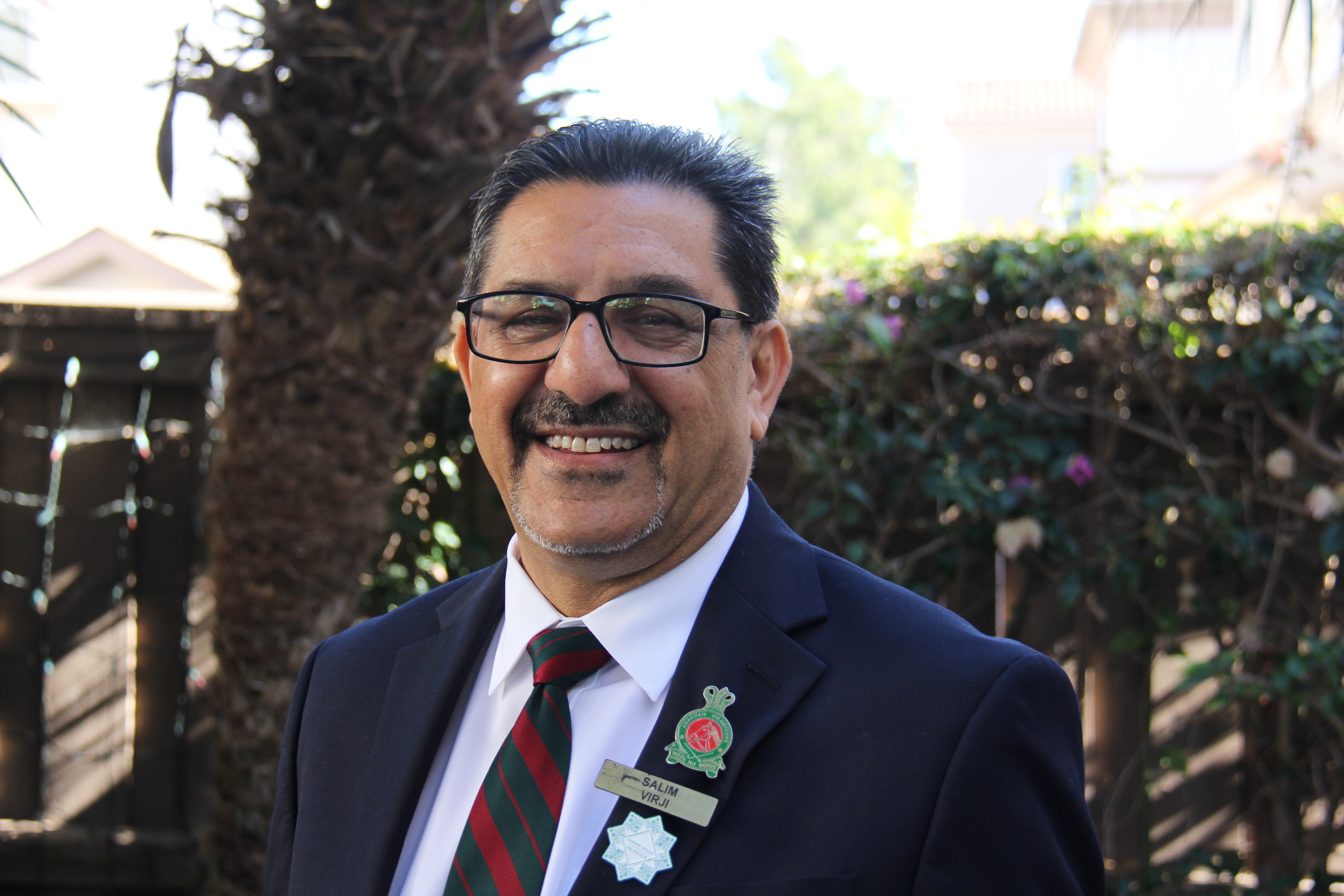 Salim Virji has served the Los Angeles Jamat since 1981.