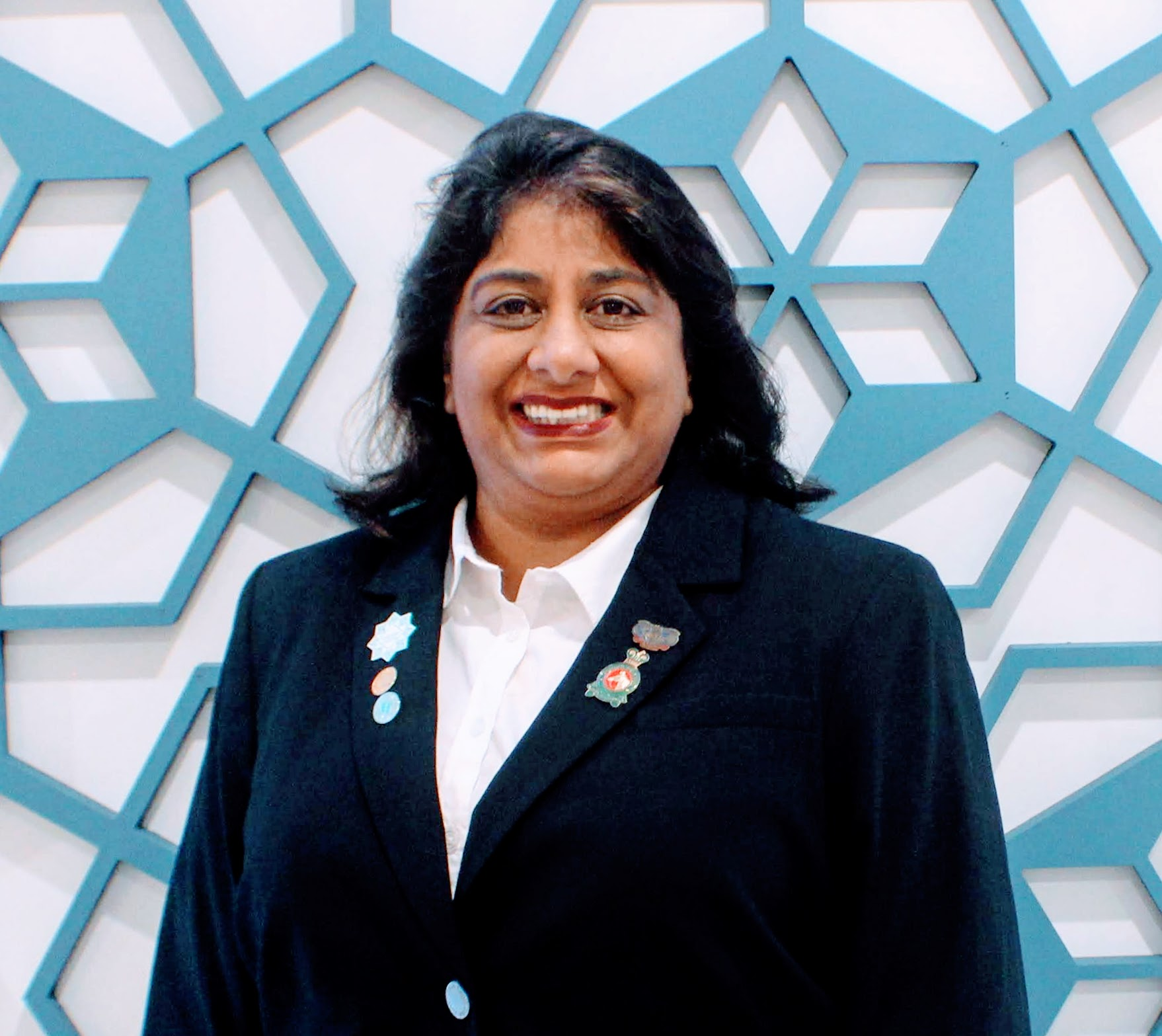 Karima Rajan started volunteering in the IVC in New Jersey in 1982.