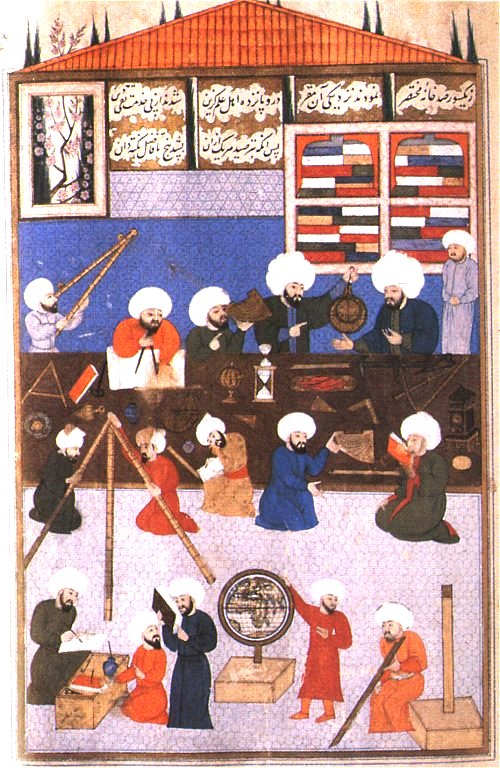 Medieval Muslim astronomers.