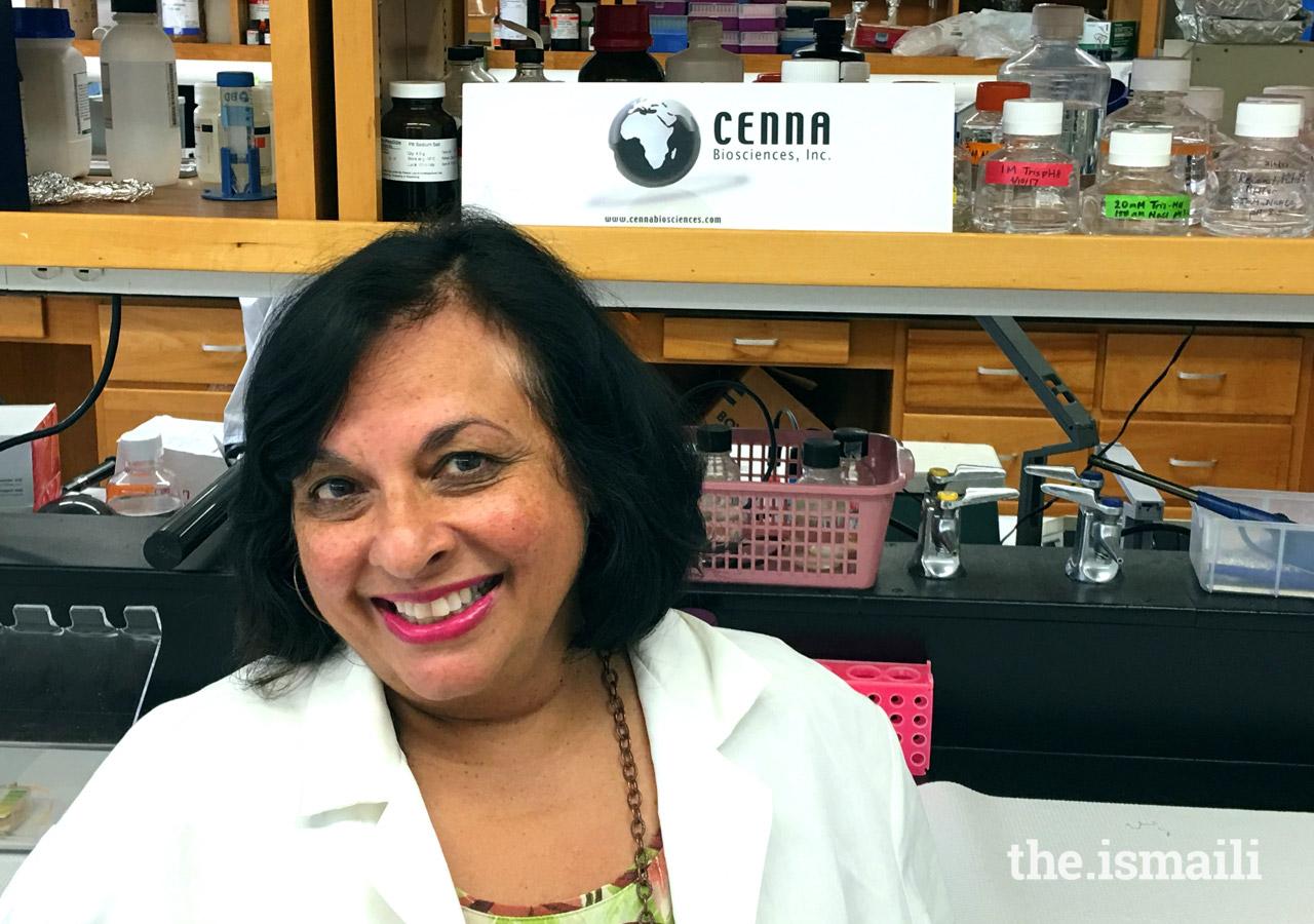 Dr. Nazneen Dewji of Cenna Biosciences Inc.