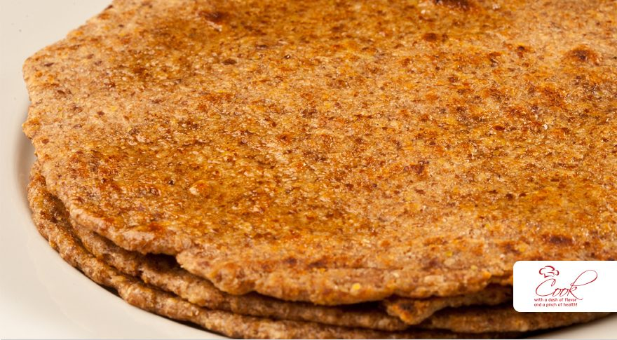 Oatmeal Flax Chappati