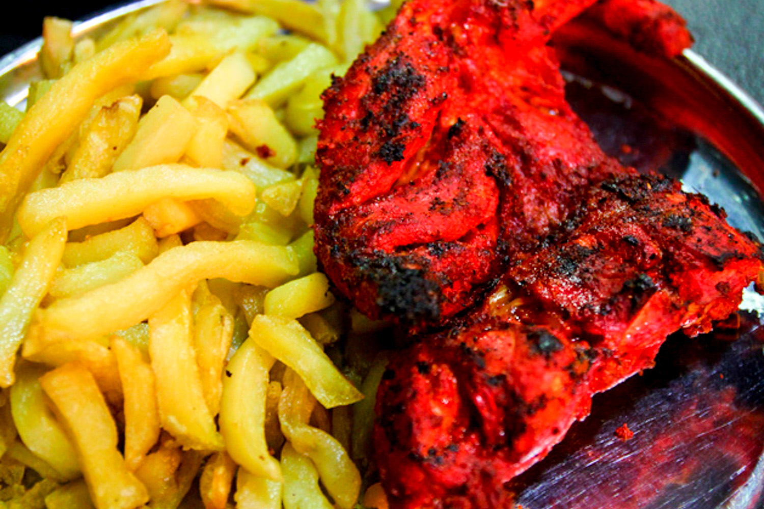 Similar to the South Asian Chicken Tikka, Sekela Chicken is available at every street corner and Dar-es-Salaam.