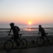 Participants braved the heat and the open road to keep cycling the 550 kilometres from Mumbai to Goa.
