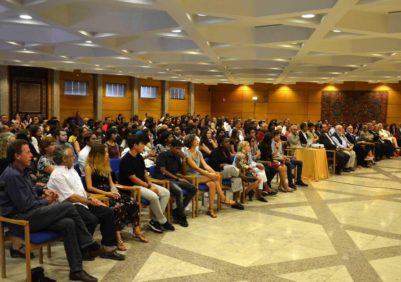Some 200 people attended the graduation ceremony. The programme was conducted in partnership with the Aga Khan Foundation Portugal. AKF Portugal / Sofia Nunes