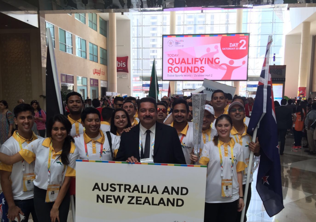 ANZ at the Jubilee Games 2016 Opening Ceremony