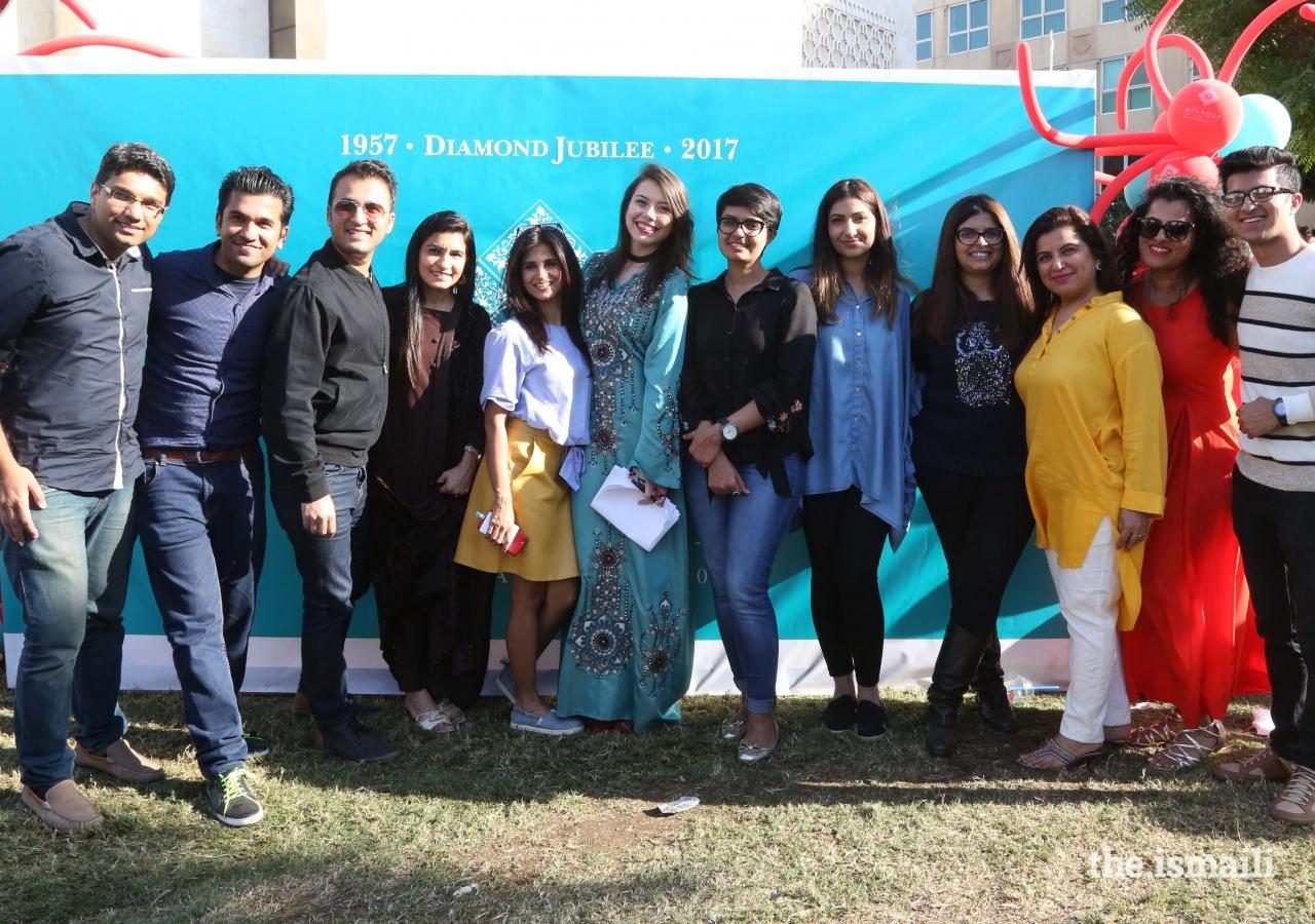 Celebrations Team enjoying the success of the Mulaqat Mela