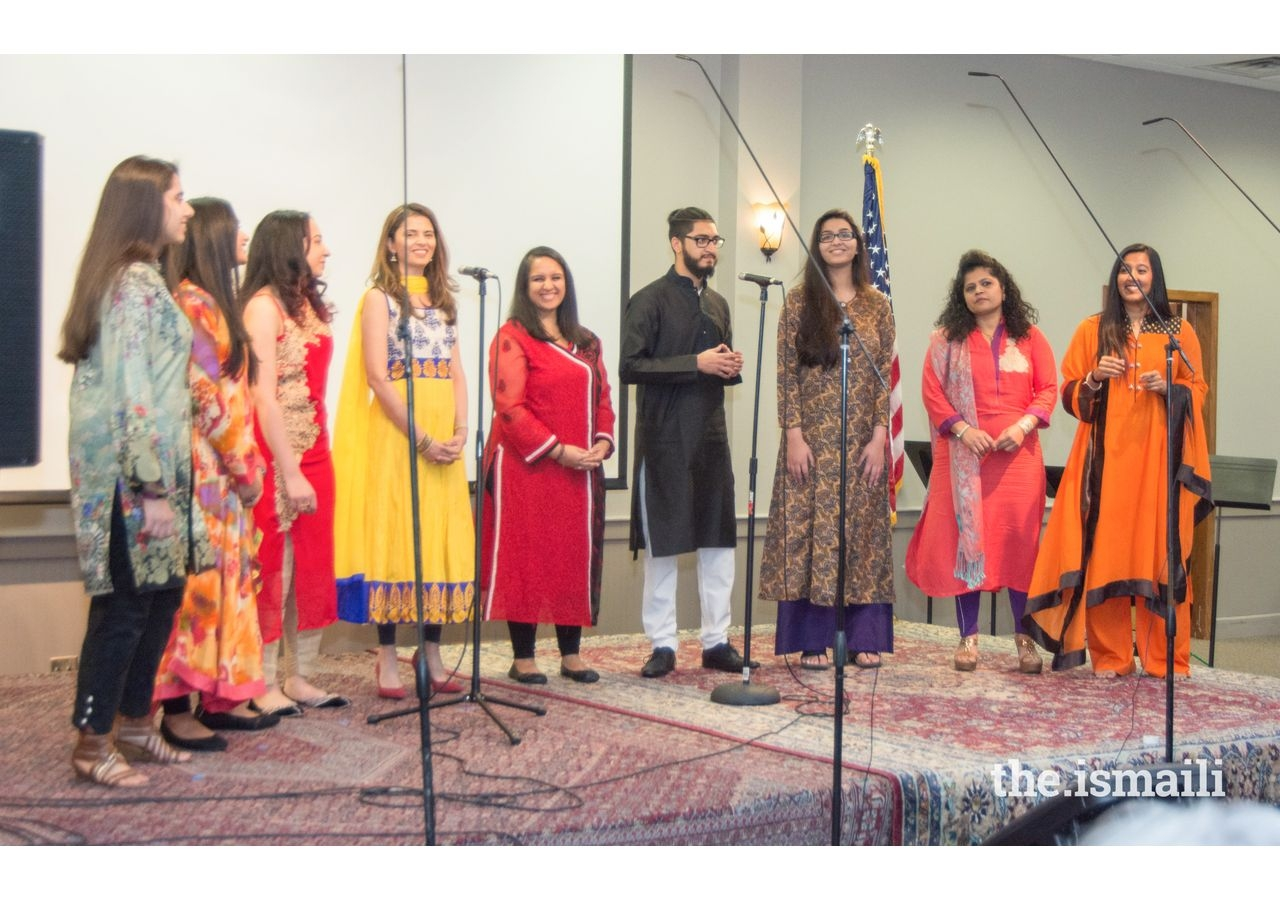 Ismaili Choir at the ECRA celebration.