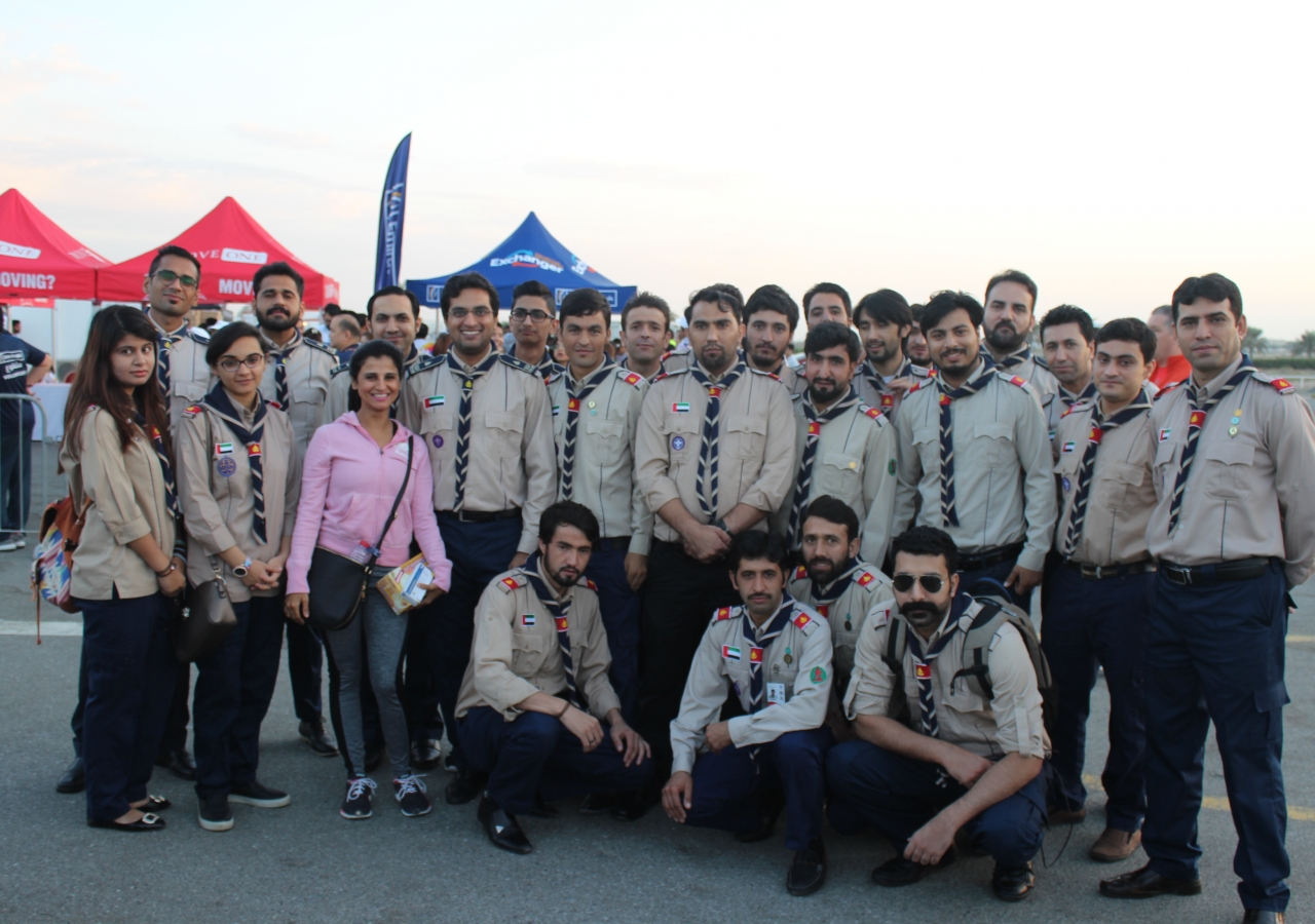 Aga Khan Scouts and Guides Volunteer at the Unity Run | the