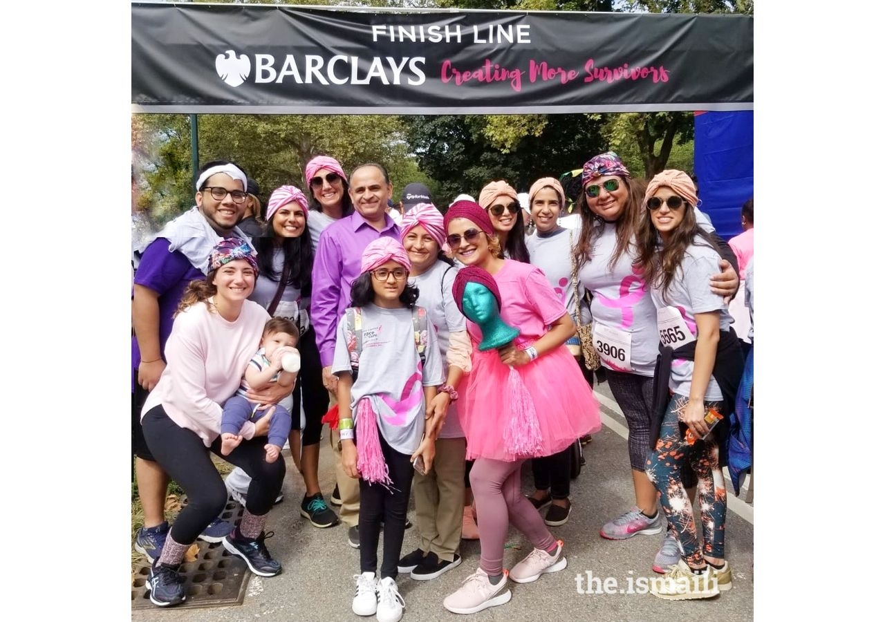Sonya was chosen to be a #powerambassador for the Susan G. Komen Foundation at the #raceforthecure where she led a team of friends and loved ones and completed a 5K run.