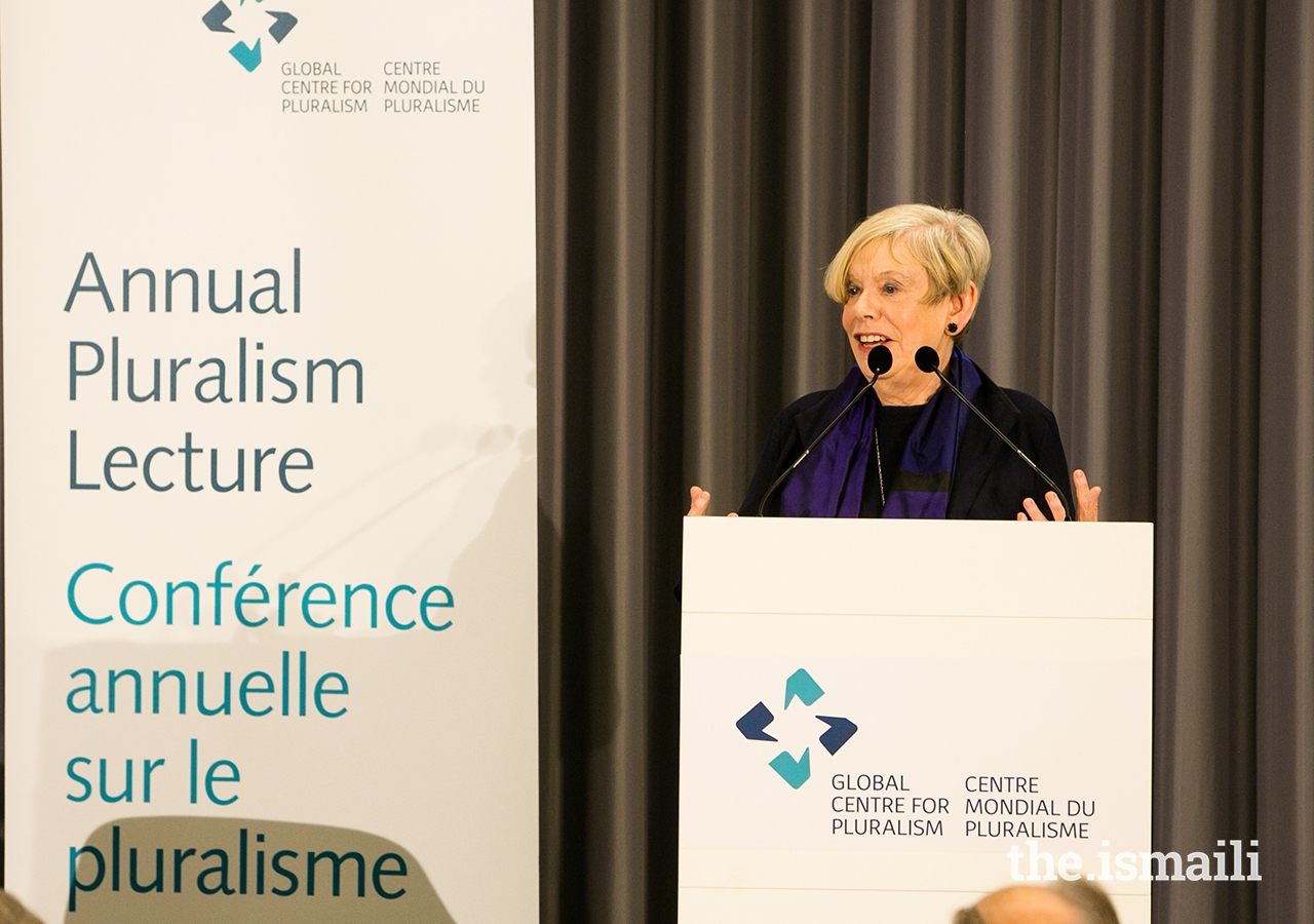 Karen Armstrong delivers the Global Centre for Pluralism's 2018 Annual Pluralism Lecture.