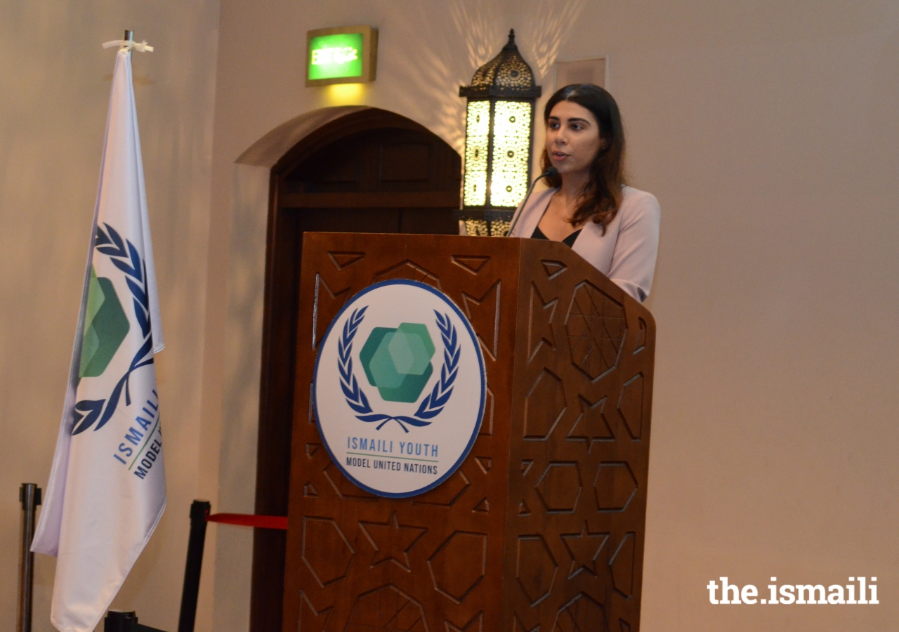 Launch of the Ismaili Youth Model United Nations at the Ismaili Centre Dubai on 4 October 2019