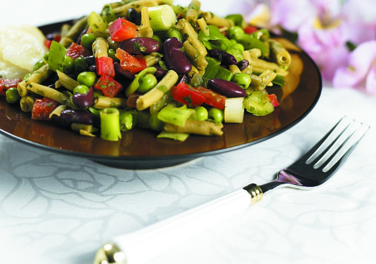 Pea and Bean Salad