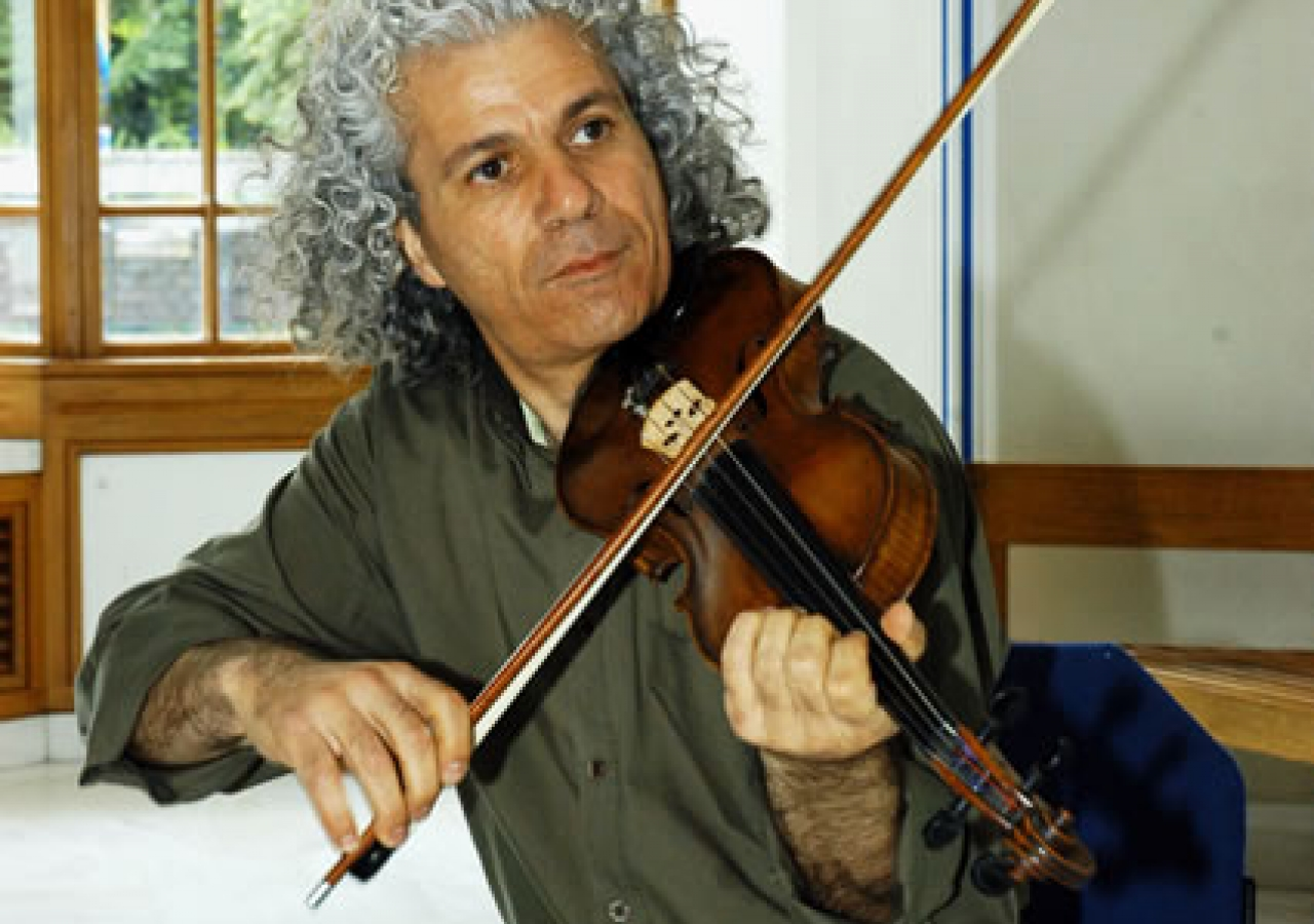 Musical performance by a member of the Royal Philharmonic Orchestra