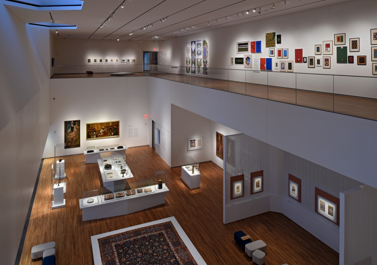 The galleries of the Aga Khan Museum in Toronto, which aims to combat misperceptions of Islam and Muslim civilizations