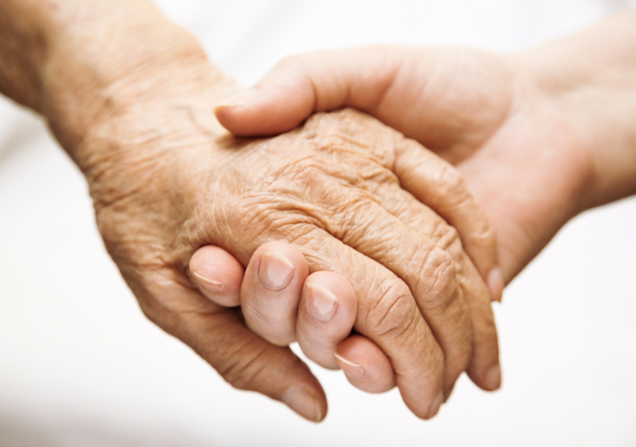 November is National Family Caregiver's Month. Studies indicate that healthy caregivers have a better outlook on life.