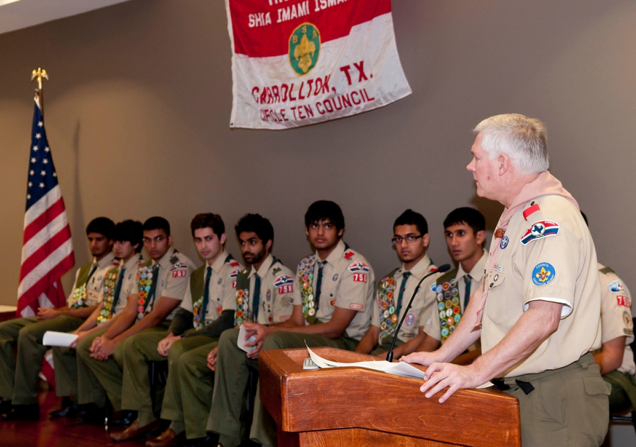 Ismaili scouts earn prestigious Eagle Scout award for