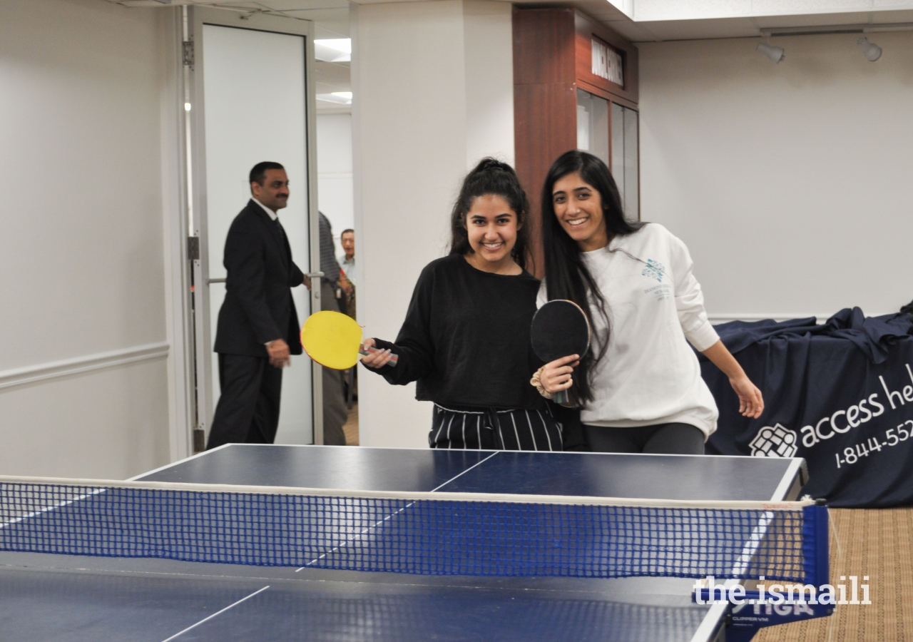 Teenager bonding strengthened at Miami Jamatkhana.