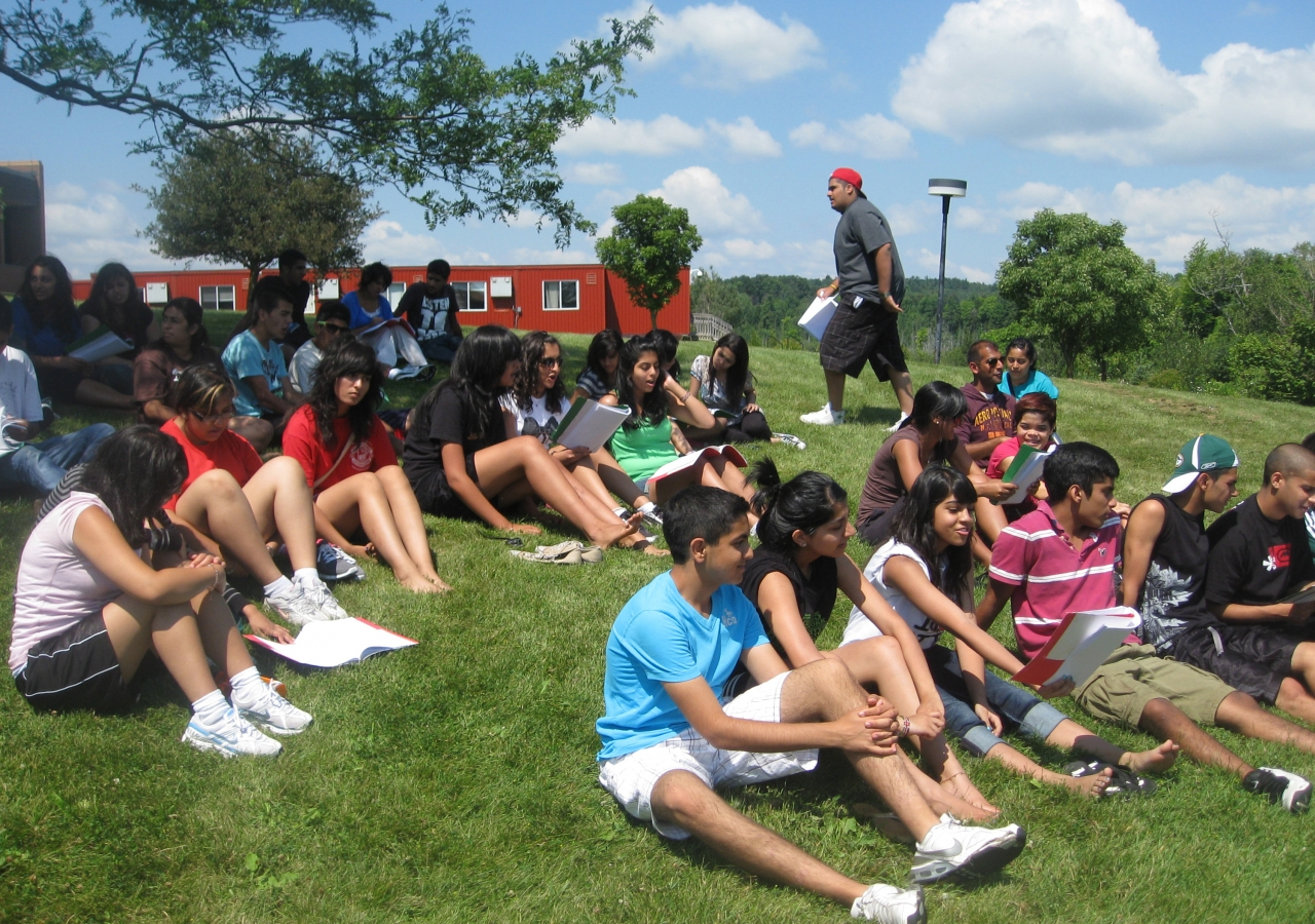 Ismaili summer camps in North America teach youth about building