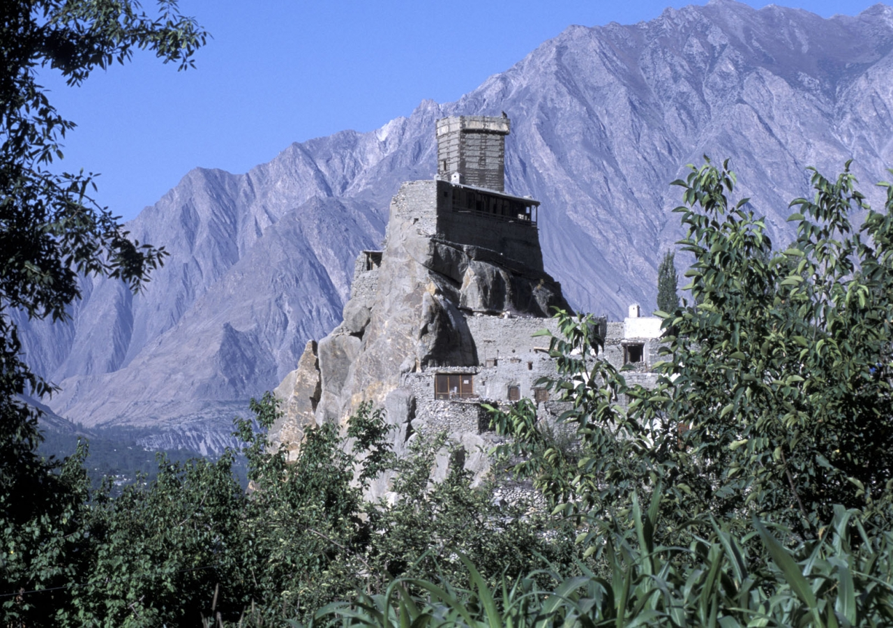 The 900-year-old Altit Fort in Pakistan, which received a 2011 UNESCO Award for Culture Heritage Conservation, was cited by the ULI as an example of Mawlana Hazar Imam's work.