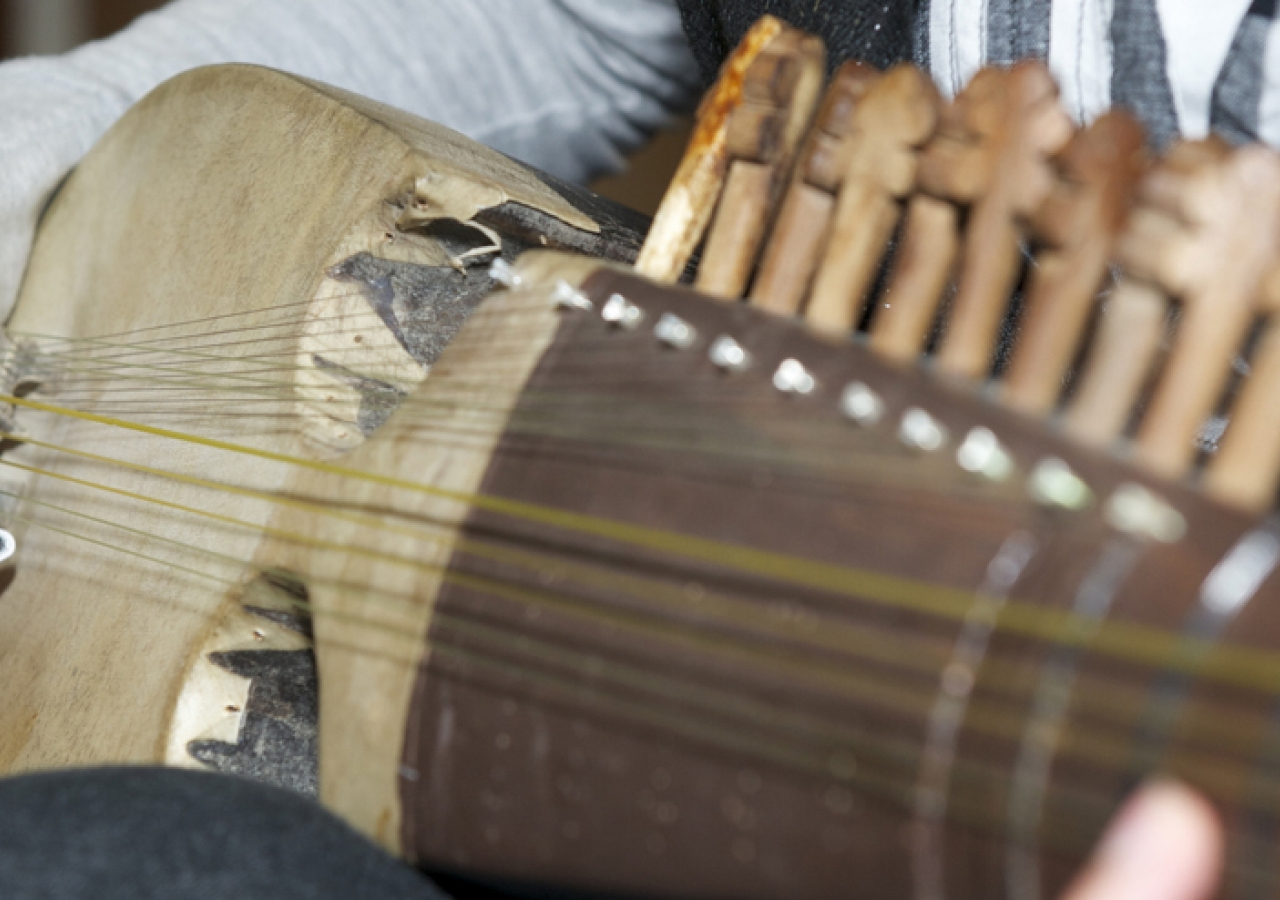 The rubab features prominently in the musical traditions of Central Asia, and is one of many instruments that contribute to the rich diversity of music in the Jamat and the ummah.