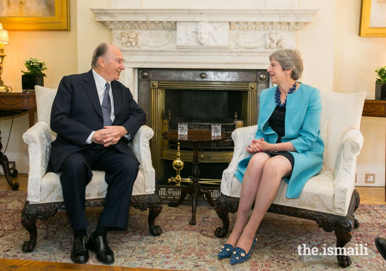 Mawlana Hazar Imam meets with ...