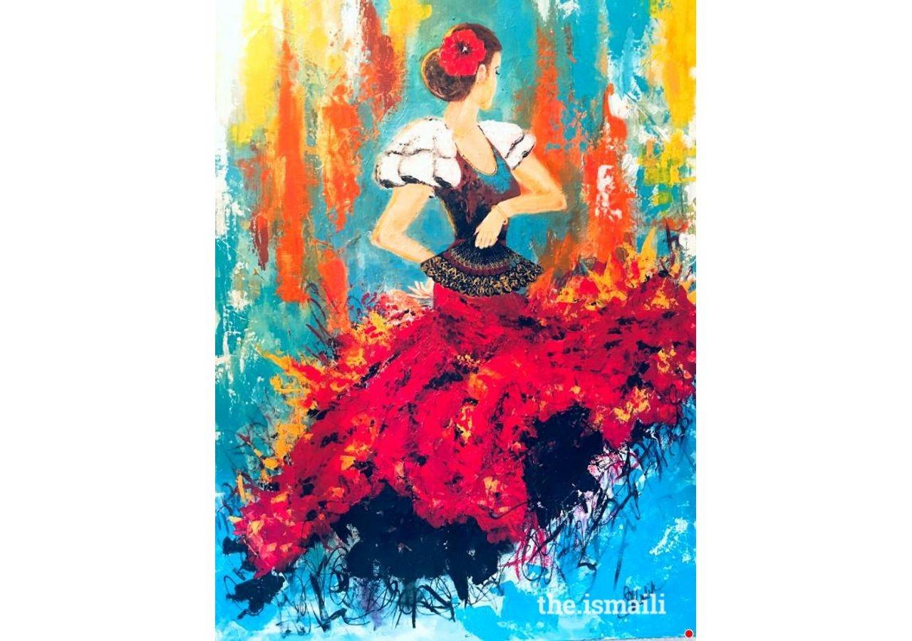 Flamenco: Dr. Soni Malik, Houston
