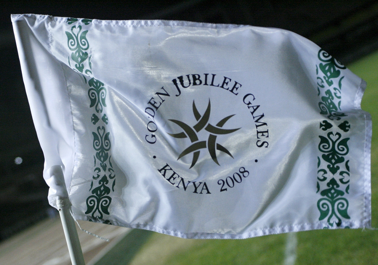 The Golden Jubilee Games flag.
